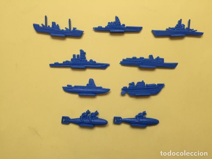 Figuras de Goma y PVC: Lote 9 BARCOS Y SUBMARINOS planos. Montaplex, Serjan... 1970's ¡COLECCIONISTA! ¡Originales! - Foto 7 - 168625844