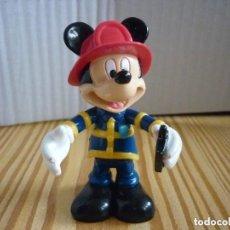 Figuras de Goma y PVC: FIGURA MICKEY BOMBERO -DISNEY. Lote 177375068