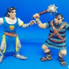 Figuras de Goma y PVC: FIGURAS PVC EL CAPITÁN TRUENO CÓMIC SPAIN. Lote 168680730
