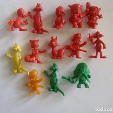 Figuras de Goma y PVC: LOTE TRECE FIGURITAS WARNER BROS AÑOS 60. Lote 139872450