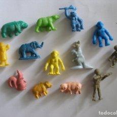 Figuras de Goma y PVC: TRECE FIGURITAS PREMIUM AÑOS 60 - 70. Lote 143183382