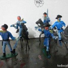 Figuras de Goma y PVC: 5 SOLDADO CABALLERIA COMANSI PARA RESTAURAR. Lote 168746952