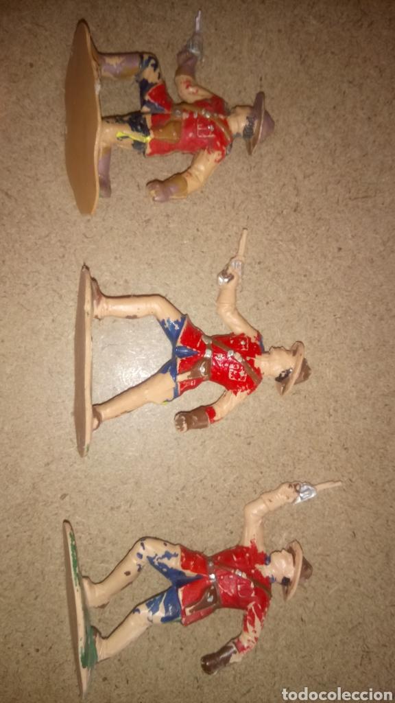 Figuras de Goma y PVC: LOTE DE 5 FIGURAS DE REAMSA. REAL POLICÍA MONTADA DEL CANADÁ. - Foto 3 - 168768653