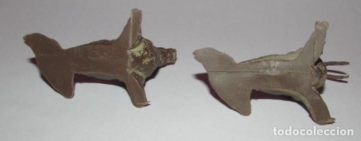 Figuras de Goma y PVC: MORSA SERIE FIERAS - PECH - AÑOS 60 - DOS MORSAS - Foto 6 - 168836708