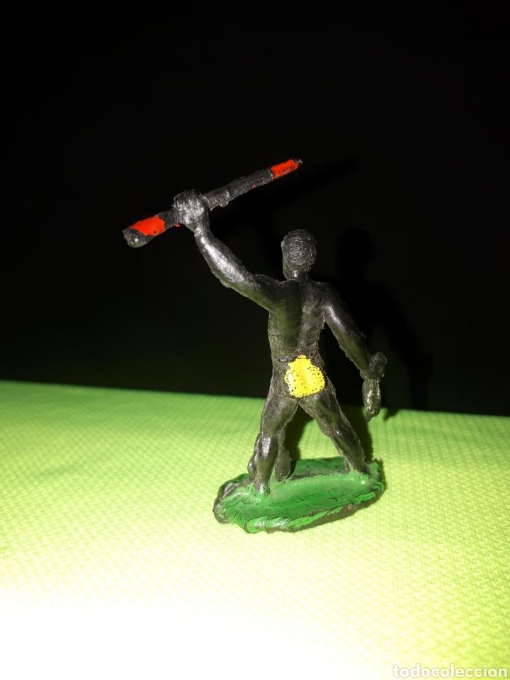 Figuras de Goma y PVC: SOTORRES DIFICIL FIGURA GUERRERO AFRICANO - Foto 2 - 168927026