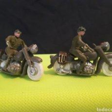 Figuras de Goma y PVC: 2 MOTOS DE TORRES MALTAS. Lote 168932461