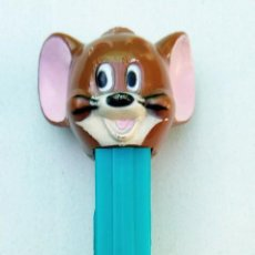Dispensador Pez: DISPENSADOR PEZ - RATÓN JERRY - MGM 1980 - U.S. PATENT 3.942.683 MADE IN HUNGARY HUNGRÍA. Lote 168966288