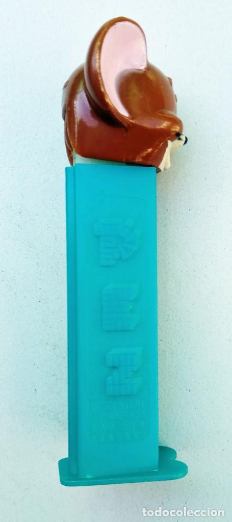 Dispensador Pez: DISPENSADOR PEZ - RATÓN JERRY - MGM 1980 - U.S. PATENT 3.942.683 MADE IN HUNGARY HUNGRÍA - Foto 3 - 168966288