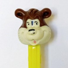 Dispensador Pez: DISPENSADOR PEZ - OSO BARNEY BEAR - MGM 1980 - U.S. PATENT 3.942.683 MADE IN YUGOSLAVIA - MUY RARO. Lote 168967024