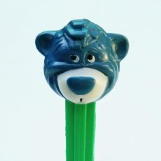 Dispensador Pez: DISPENSADOR PEZ - OSO BALOO WALT DISNEY LIBRO DE LA JUNGLA U.S. PATENT 3.942.683 MADE IN YUGOSLAVIA. Lote 168968036