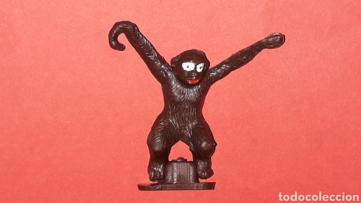 Figuras de Goma y PVC: Mono Mona Chita Cheeta, serie Tarzan Jungla, plástico Sotorres compatible Madelman, original años 60 - Foto 2 - 168977540