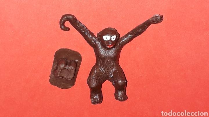 Figuras de Goma y PVC: Mono Mona Chita Cheeta, serie Tarzan Jungla, plástico Sotorres compatible Madelman, original años 60 - Foto 4 - 168977540