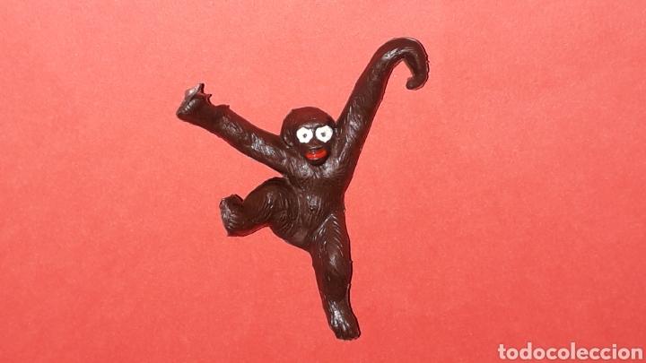 Figuras de Goma y PVC: Mono Mona Chita Cheeta, serie Tarzan Jungla, plástico Sotorres compatible Madelman, original años 60 - Foto 2 - 288571198