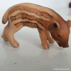 Figuras de Goma y PVC: CRÍAS DE ANIMALES DEL BOSQUE 41457 JABATO SCHLEICH. Lote 169107312