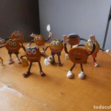 Figuras de Goma y PVC: 8 - FIGURAS EN GOMA - PVC DE DORADITA DE CHOCO - PUBLICIDAD GALLETAS MARBÚ. Lote 169232492