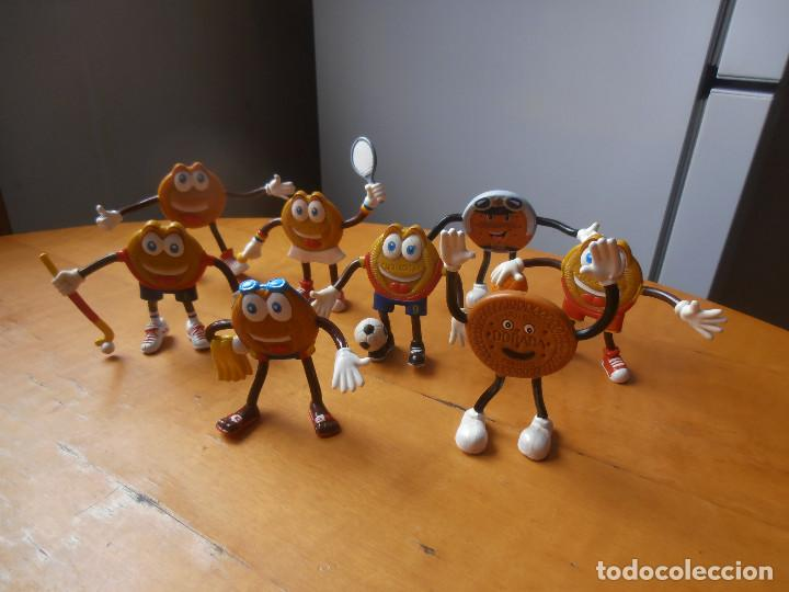 Figuras de Goma y PVC: 8 - FIGURAS EN GOMA - PVC DE DORADITA DE CHOCO - PUBLICIDAD GALLETAS MARBÚ - Foto 3 - 169232492