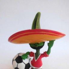 Figuras de Goma y PVC: ANTIGUA FIGURA EN GOMA PVC COMICS SPAIN (SIN MARCAR) PIQUE MUNDIAL MEXICO MEJICO 86 MUÑECO. Lote 169236532