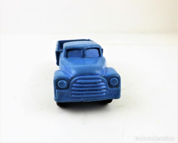 Figuras de Goma y PVC: Tomte Laerdal nº7. Camión con caja. (Noruega) - Foto 2 - 169291556