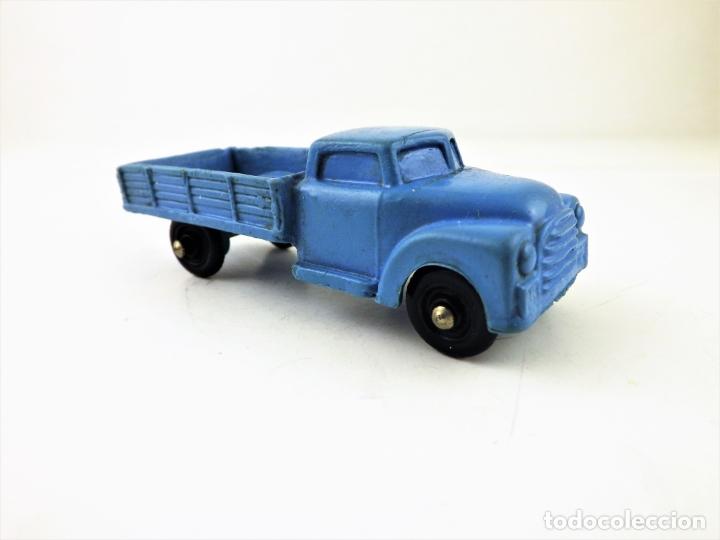 Figuras de Goma y PVC: Tomte Laerdal nº7. Camión con caja. (Noruega) - Foto 3 - 169291556