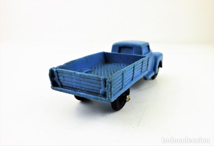 Figuras de Goma y PVC: Tomte Laerdal nº7. Camión con caja. (Noruega) - Foto 4 - 169291556