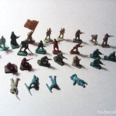 Figuras de Goma y PVC: SOLDADOS EN PVC LOTE VARIADO. Lote 169330600