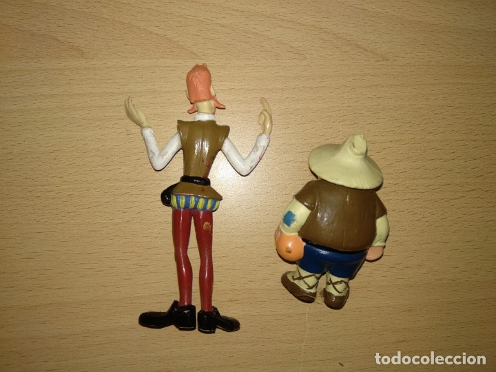 Figuras de Goma y PVC: Colección Figuras Don Quijote Sancho Rocinante Rufio Romagosa Eura Spain PVC Cervantes - Foto 2 - 236973015
