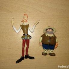 Figuras de Goma y PVC: COLECCIÓN COMPLETA FIGURAS DON QUIJOTE SANCHO ROCINANTE RUFIO ROMAGOSA EURA SPAIN PVC CERVANTES. Lote 192444407