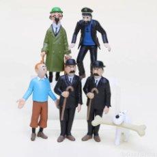 Figuras de Goma y PVC: LOTE DE 6 FIGURAS DE TINTIN EN PVC. Lote 221951527