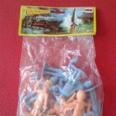Figuras de Goma y PVC: ANTIGUA BOLSA BLISTER DE FIGURAS COMANSI GUARDIANES DEL ESPACIO THUNDERBIRDS SPACE MUÑECOS JUGUETES.. Lote 169406800