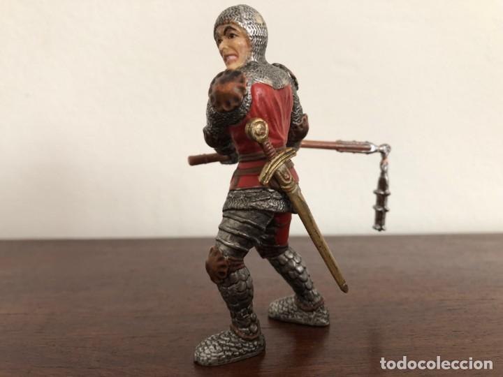 Figuras de Goma y PVC: Schleich Guerrero medieval - Foto 2 - 169462376