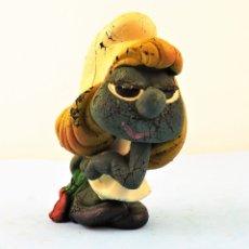 Figuras de Goma y PVC: PITUFINA DE LANCO (8CMS). Lote 169641884