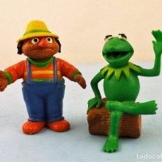 Figuras de Goma y PVC: DON PIMPOM Y RANA GUSTAVO. Lote 169647012