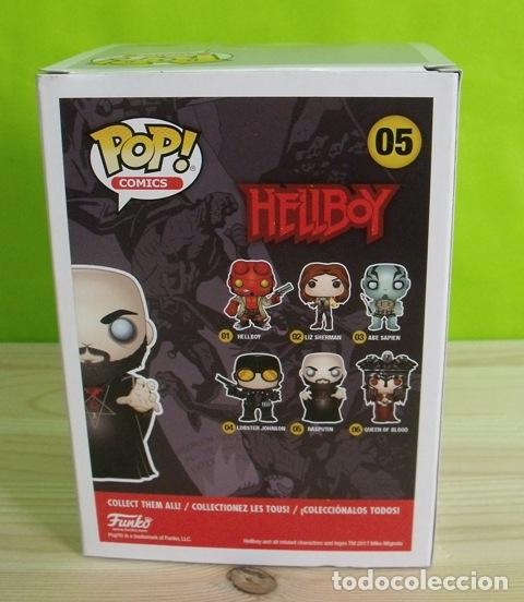 Figuras de Goma y PVC: Figura Funko Pop Rasputin - Hellboy - Foto 4 - 169652880