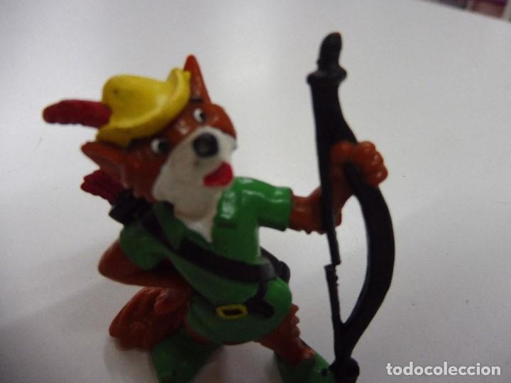Figuras de Goma y PVC: Figura goma pvc Robin Hood Bullyland Disney, Germany - Foto 2 - 169674728