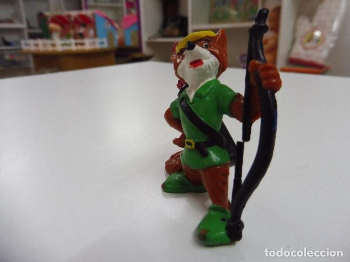 Figuras de Goma y PVC: Figura goma pvc Robin Hood Bullyland Disney, Germany - Foto 6 - 169674728
