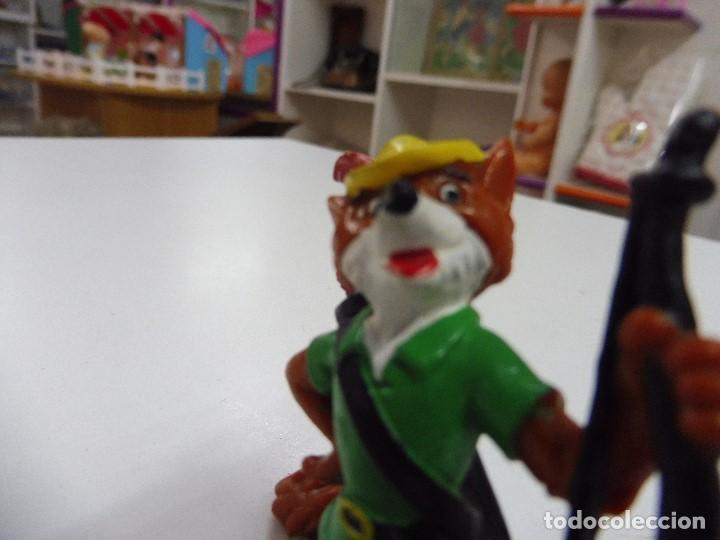 Figuras de Goma y PVC: Figura goma pvc Robin Hood Bullyland Disney, Germany - Foto 7 - 169674728