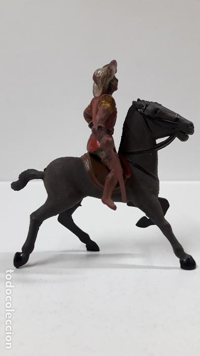 Figuras de Goma y PVC: MOSQUETERO . REALIZADO POR REAMSA . SERIE MOSQUETEROS . AÑOS 50 EN GOMA . CABALLO NO INCLUIDO - Foto 5 - 169712532