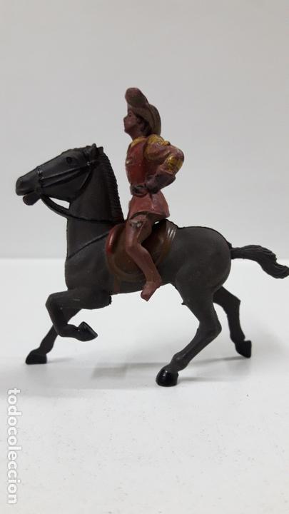 Figuras de Goma y PVC: MOSQUETERO . REALIZADO POR REAMSA . SERIE MOSQUETEROS . AÑOS 50 EN GOMA . CABALLO NO INCLUIDO - Foto 6 - 169712532