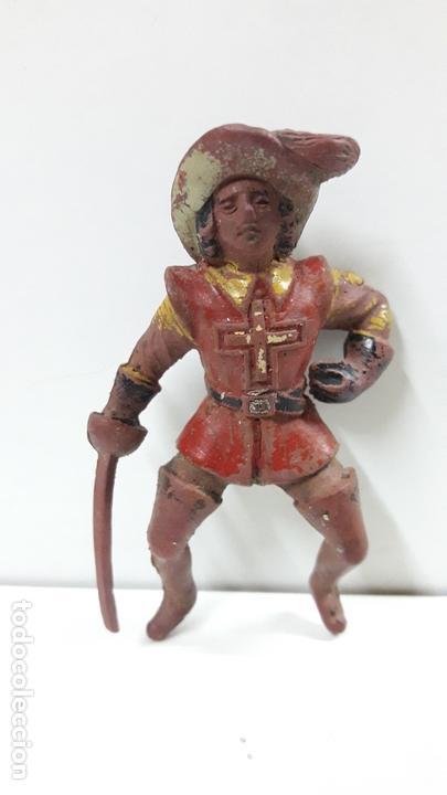 Figuras de Goma y PVC: MOSQUETERO . REALIZADO POR REAMSA . SERIE MOSQUETEROS . AÑOS 50 EN GOMA . CABALLO NO INCLUIDO - Foto 7 - 169712532