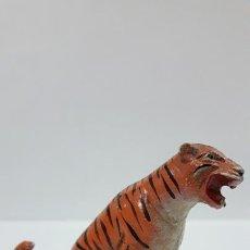 Figuras de Goma y PVC: TIGRE . REALIZADO POR JECSAN . SERIER CIRCO . AÑOS 50 EN GOMA. Lote 169714100