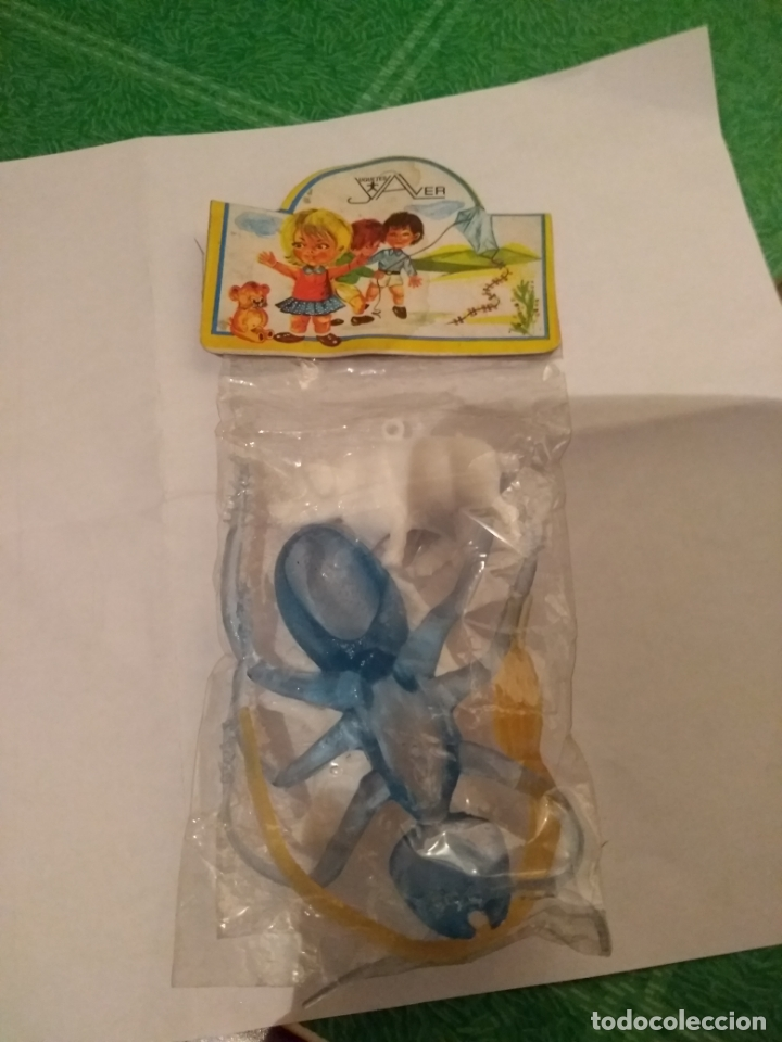 Figuras de Goma y PVC: ANTIGUA BOLSA DE JAYVER - Foto 2 - 169715852