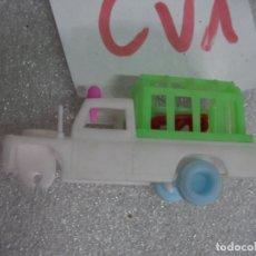 Figuras de Goma y PVC: ANTIGUO JEEP CON JAULA. Lote 169760260