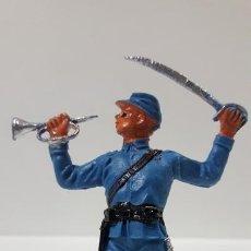 Figuras de Goma y PVC: SOLDADO FEDERAL - YANKEE . REALIZADO POR JECSAN . AÑOS 60 EN PLASTICO. Lote 169779852