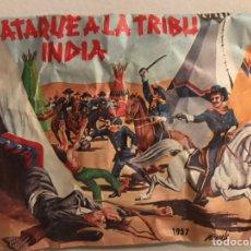 Figuras de Goma y PVC: ATAQUE A LA TRIBU INDIA MONTAPLEX (COMPLETO, NUNCA ABIERTO). Lote 169835424