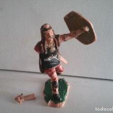 Figuras de Goma y PVC: REAMSA ORIGINAL GUERRERO GALO DE LA SERIE GUERREROS GALOS REF 441 NO ROMANO AÑOS 60/70. PTOY. Lote 169901416