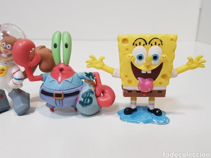 Figuras de Goma y PVC: LOTE 4 FIGURAS BOB ESPONJA / AÑO 2008 Y 2010 / PINTADOS A MANO - Foto 4 - 169940097