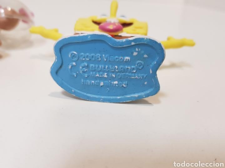 Figuras de Goma y PVC: LOTE 4 FIGURAS BOB ESPONJA / AÑO 2008 Y 2010 / PINTADOS A MANO - Foto 9 - 169940097