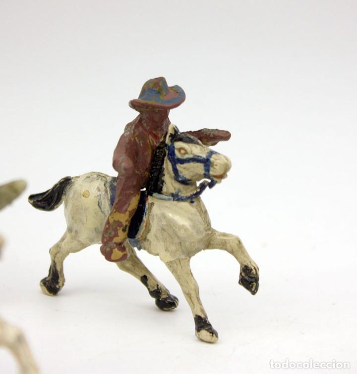 Figuras de Goma y PVC: INDIOS Y AMERICANOS - ALCA CAPELL - 45mm - GOMA - LOTE DE FIGURAS: VAQUEROS, INDIOS Y CABALLOS - Foto 4 - 169944196