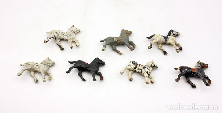 Figuras de Goma y PVC: INDIOS Y AMERICANOS - ALCA CAPELL - 45mm - GOMA - LOTE DE FIGURAS: VAQUEROS, INDIOS Y CABALLOS - Foto 8 - 169944196