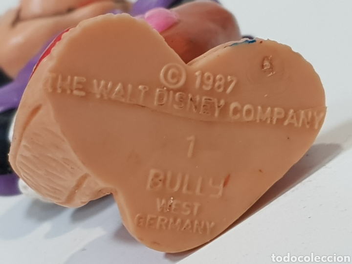 Figuras de Goma y PVC: AÑO 1987 / TROQUEL N°1 / BULLY / THE WALT DISNEY COMPANY / MICKEY MOUSE - Foto 3 - 170028792
